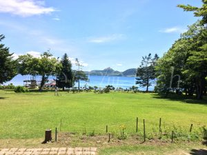 中島からの景色