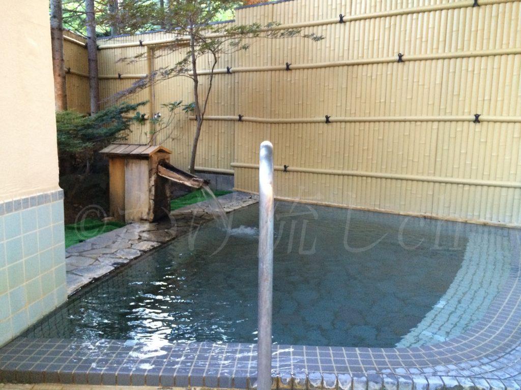 オロフレ荘露天風呂