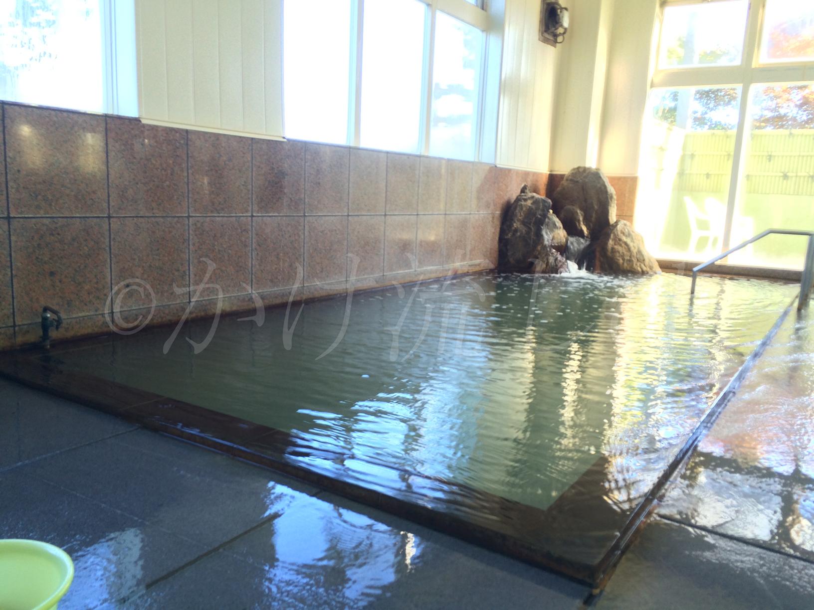 八雲町和の湯(やわらぎのゆ)は成分の濃い塩化物強塩泉がかけ流し!