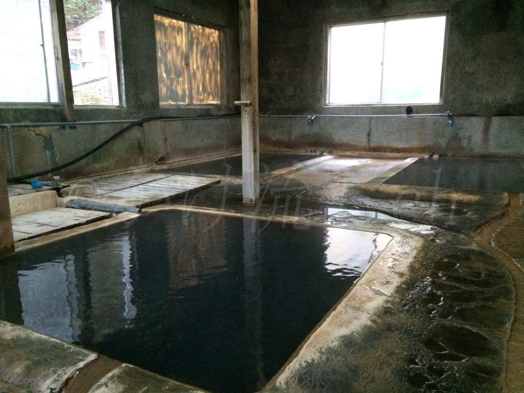 濁川温泉新栄館混浴風呂『菊の湯』