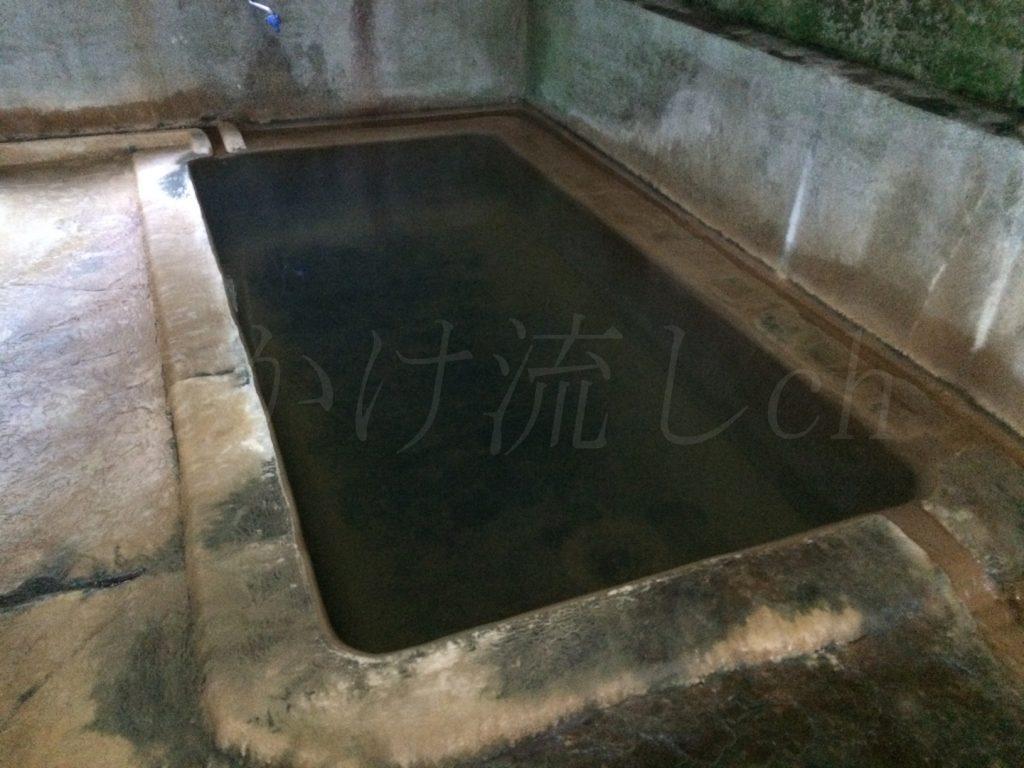 濁川温泉新栄館混浴風呂『菊の湯』浴槽-3
