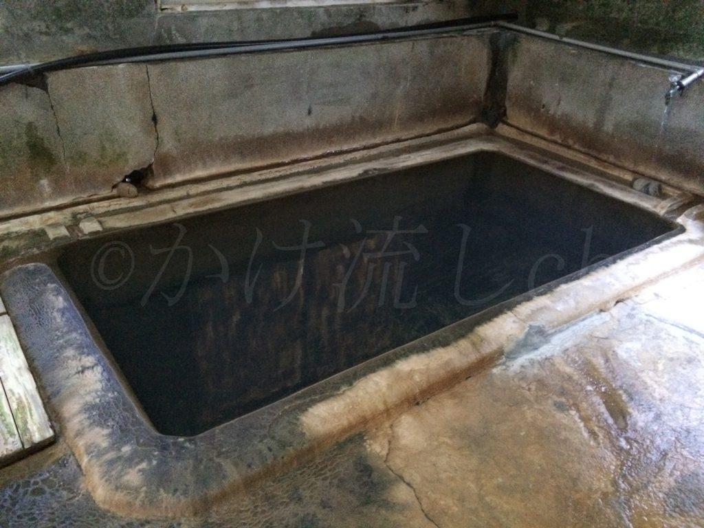 濁川温泉新栄館混浴風呂『菊の湯』浴槽-2